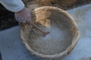 Stirring the wort
