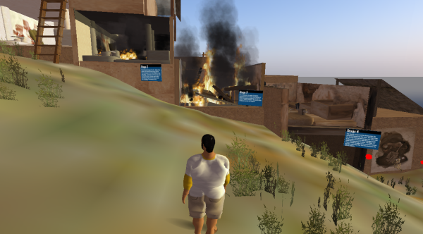 Çatalhöyük burning, while fat Dec watches