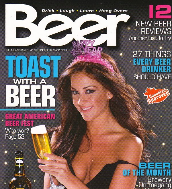 Beer Magazine's Cover Girl